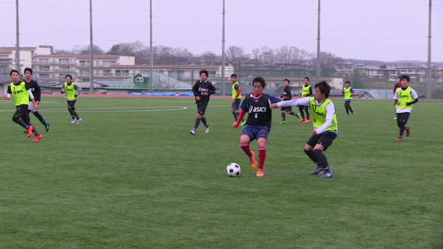 TOP Team Training Match: vs 明誠高校男子 April 2, 2016_c0365198_00120373.jpg