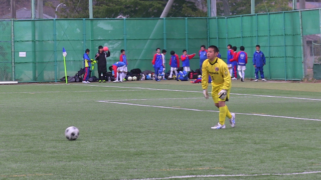 U14 塩釜神社杯:vs 二本松第一中学校 April 2, 2016_c0365198_00285136.jpg