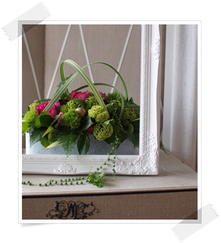 Arrange flowers in May~_c0229721_15050570.jpg