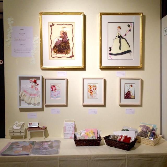 今月のミニギャラリー☆『さとみ ことみ Sweets Garden』展_c0227664_18455925.jpg