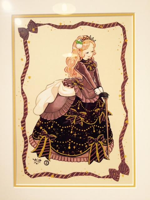 今月のミニギャラリー☆『さとみ ことみ Sweets Garden』展_c0227664_18514936.jpg