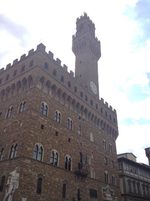 ヴェッキオ宮殿のアルノルフォの塔に上る(前編)_a0136671_2321866.jpg