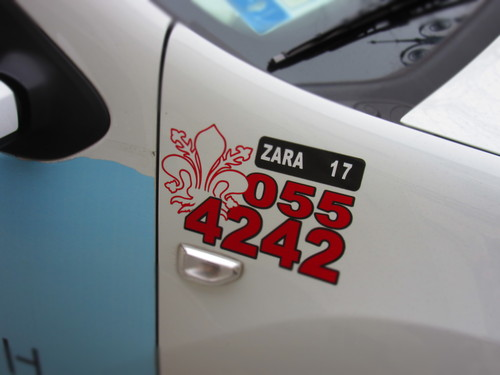イタリアでタクシーに乗る際にチェックしたいこと!!_c0179785_2139178.jpg