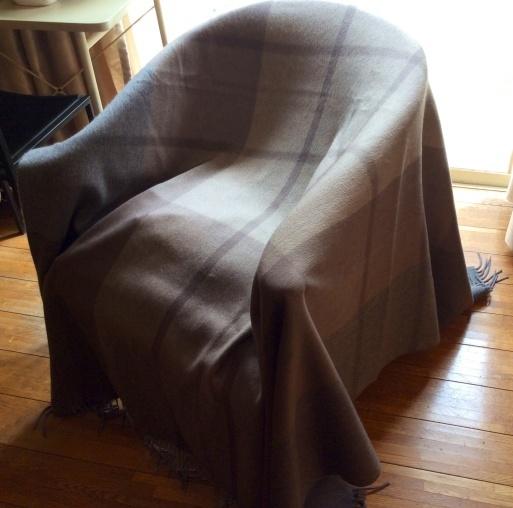 Iuxuryな毛布…CLOMBOのカシミア_b0210699_01014651.jpg