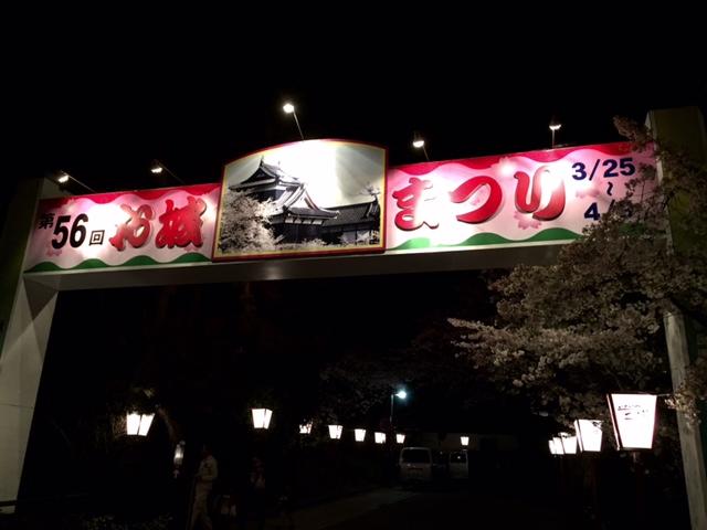 お城まつり・・・夜桜編_a0326106_2105471.jpg