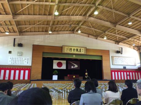 高校入学式_e0148212_12162770.jpg