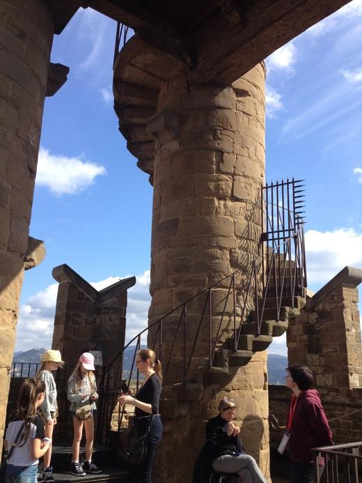 ヴェッキオ宮殿のアルノルフォの塔に上る(後編) _a0136671_2345643.jpg