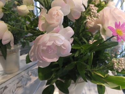 オークリーフ花の教室(加田さんの作品)_f0049672_1735326.jpg