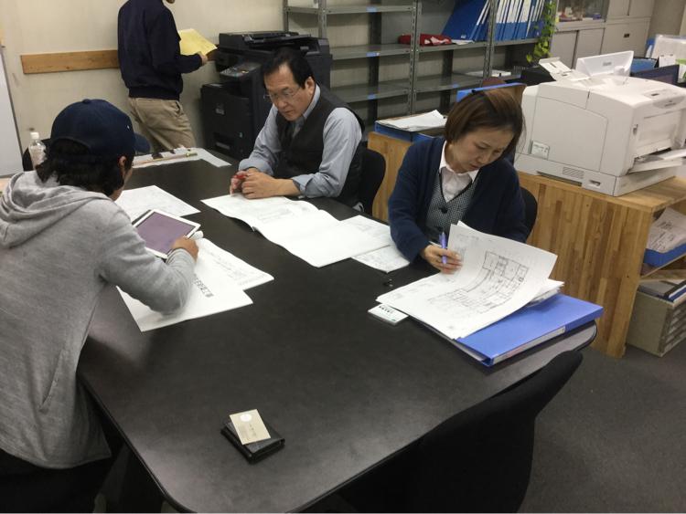 プレカット打ち合わせ  東広島の家_c0124828_21425229.jpg