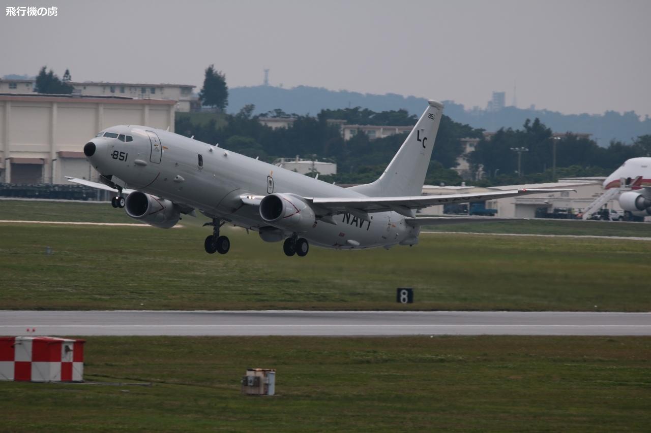 P-8 ポセイドンの離陸  アメリカ海軍  _b0313338_06540315.jpg