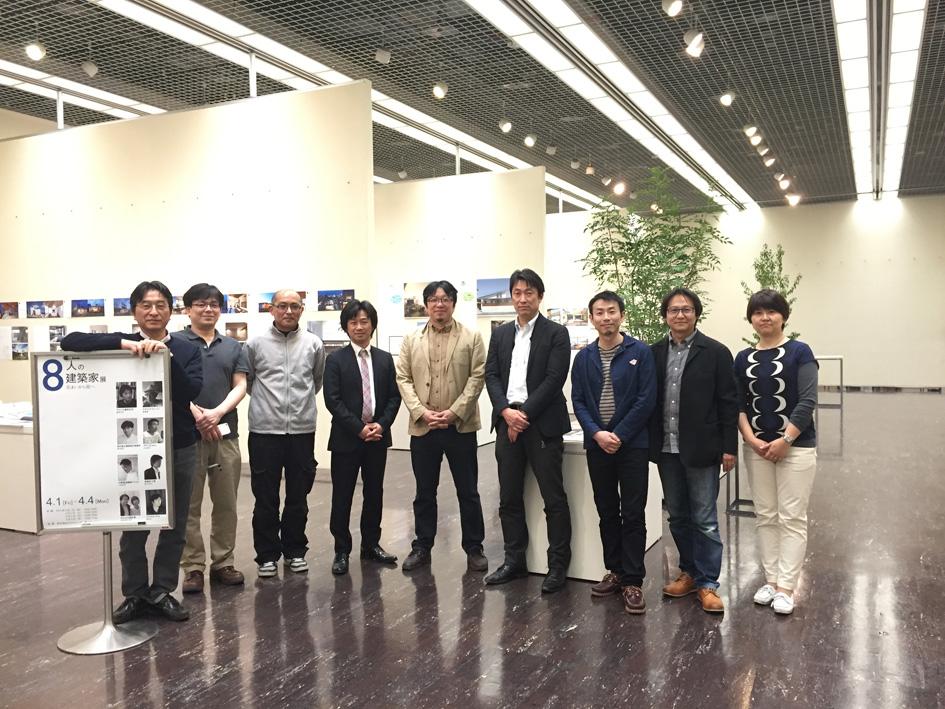 8人の建築家展 2016  終了しました_e0127948_13575742.jpg