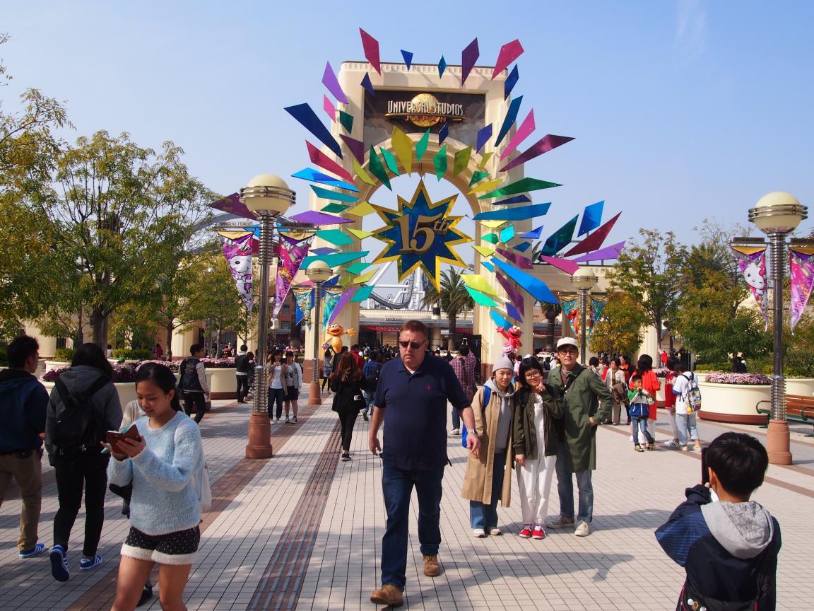 イースター(復活祭)休暇中の京都、大阪はにぎわってました_b0235153_1055934.jpg