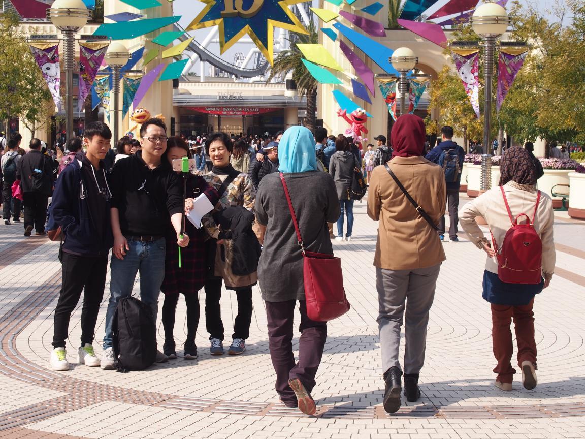 イースター(復活祭)休暇中の京都、大阪はにぎわってました_b0235153_1063069.jpg