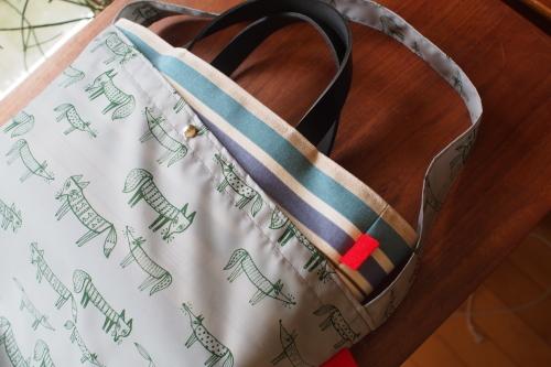 ファブリックを楽しむ「wear bag」_e0243765_22132960.jpg