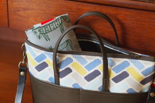 ファブリックを楽しむ「wear bag」_e0243765_22153814.jpg