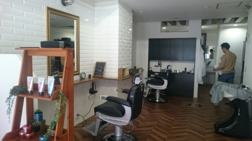 cut & STAND BAR BER SHOP 仙台榴岡 店舗工事_e0357165_10285135.jpg