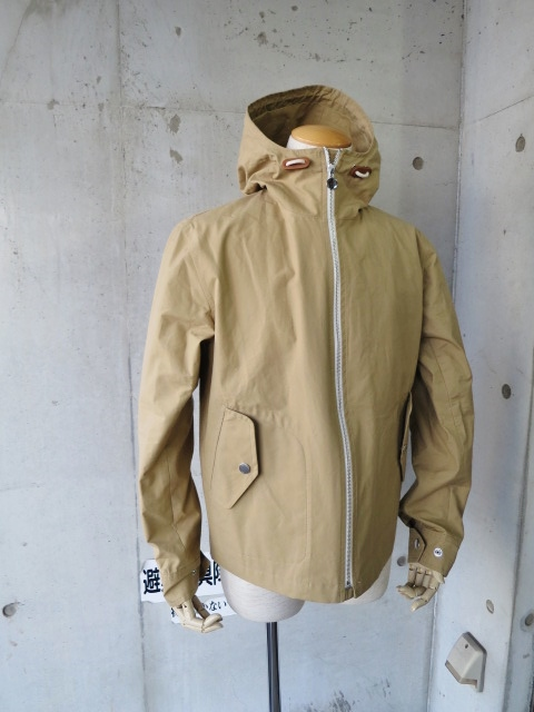 お陰様で各色・残り1枚づつ。。。Gloverall HOODED ZIP PARKA JACKET (UK Limited MODEL)_d0152280_11341480.jpg