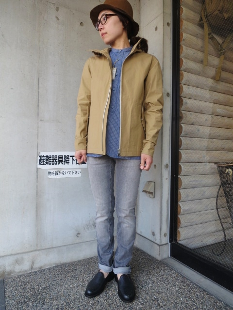 お陰様で各色・残り1枚づつ。。。Gloverall HOODED ZIP PARKA JACKET (UK Limited MODEL)_d0152280_11364310.jpg