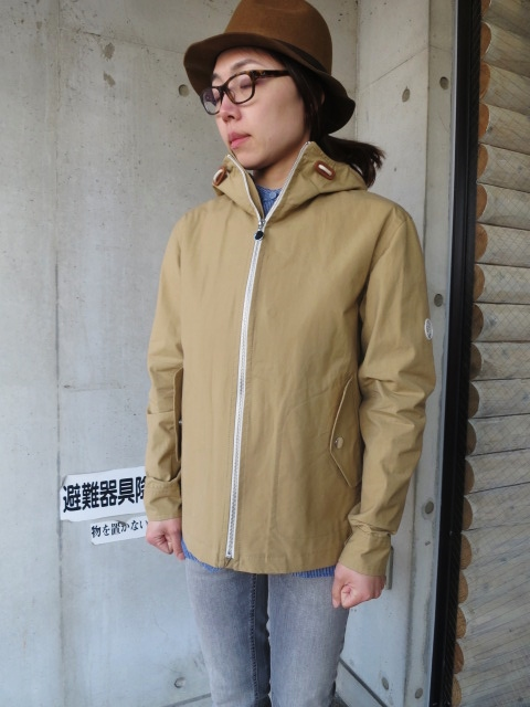 お陰様で各色・残り1枚づつ。。。Gloverall HOODED ZIP PARKA JACKET (UK Limited MODEL)_d0152280_11365976.jpg