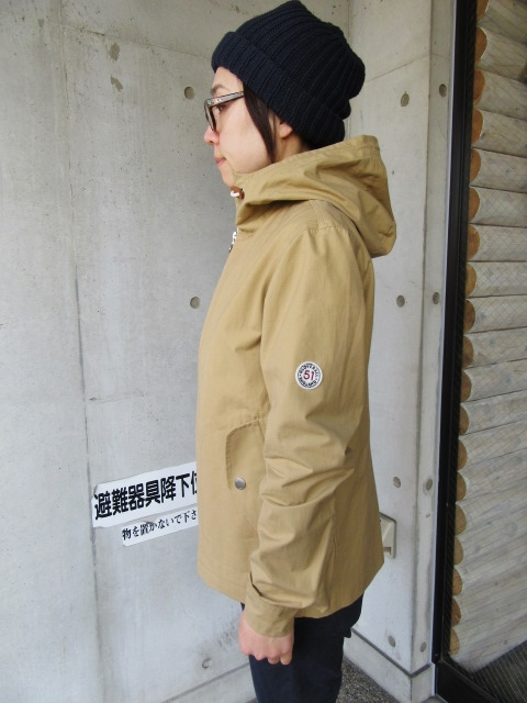 お陰様で各色・残り1枚づつ。。。Gloverall HOODED ZIP PARKA JACKET (UK Limited MODEL)_d0152280_11383640.jpg