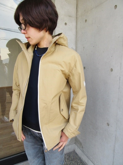 お陰様で各色・残り1枚づつ。。。Gloverall HOODED ZIP PARKA JACKET (UK Limited MODEL)_d0152280_11392058.jpg