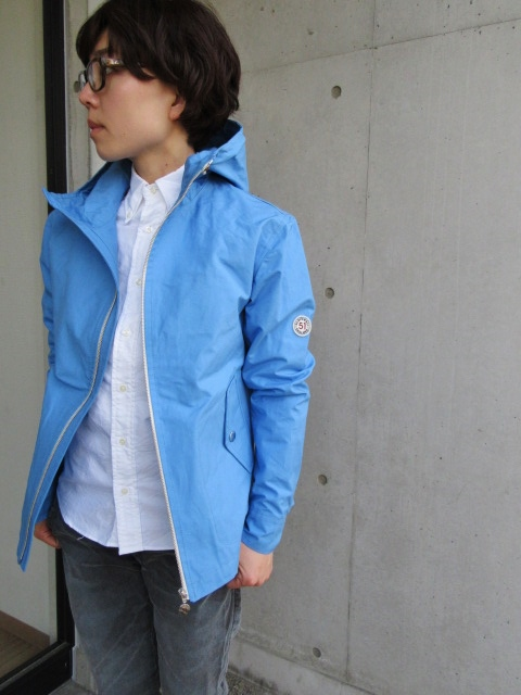 お陰様で各色・残り1枚づつ。。。Gloverall HOODED ZIP PARKA JACKET (UK Limited MODEL)_d0152280_11421937.jpg