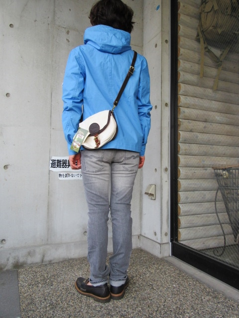 お陰様で各色・残り1枚づつ。。。Gloverall HOODED ZIP PARKA JACKET (UK Limited MODEL)_d0152280_11432164.jpg