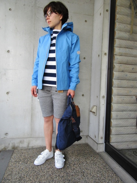 お陰様で各色・残り1枚づつ。。。Gloverall HOODED ZIP PARKA JACKET (UK Limited MODEL)_d0152280_11435915.jpg