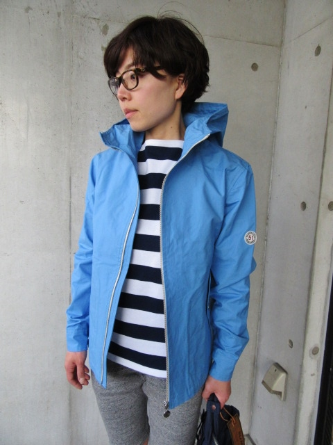 お陰様で各色・残り1枚づつ。。。Gloverall HOODED ZIP PARKA JACKET (UK Limited MODEL)_d0152280_1144874.jpg