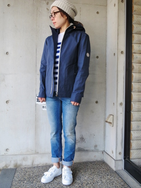 お陰様で各色・残り1枚づつ。。。Gloverall HOODED ZIP PARKA JACKET (UK Limited MODEL)_d0152280_122621100.jpg