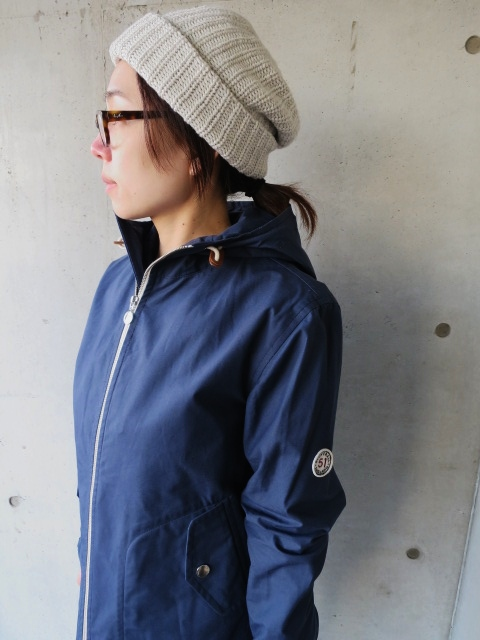 お陰様で各色・残り1枚づつ。。。Gloverall HOODED ZIP PARKA JACKET (UK Limited MODEL)_d0152280_12264522.jpg