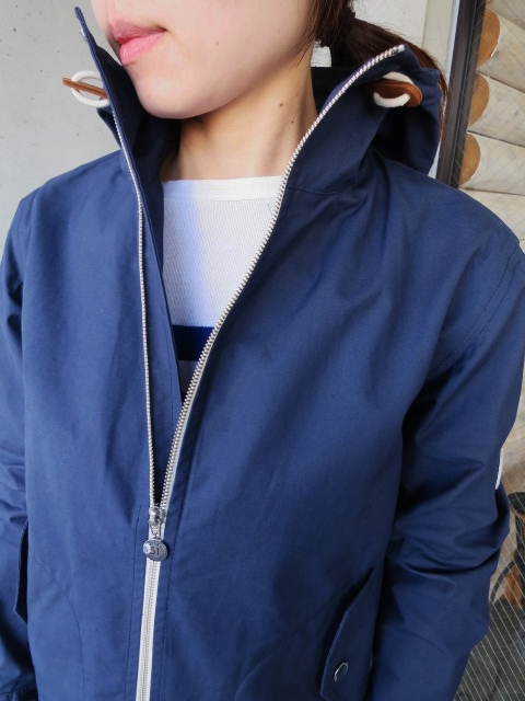 お陰様で各色・残り1枚づつ。。。Gloverall HOODED ZIP PARKA JACKET (UK Limited MODEL)_d0152280_12265810.jpg