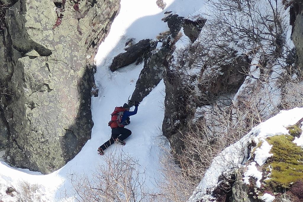 恵庭岳冬尾根、4月6日_f0138096_23242515.jpg