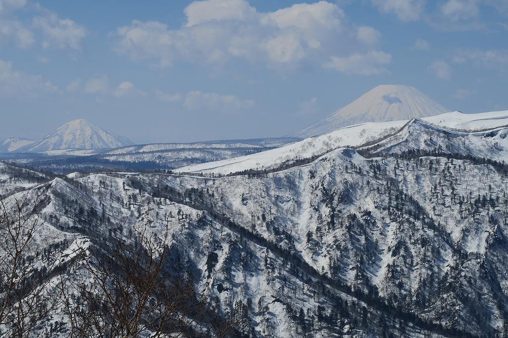 恵庭岳冬尾根、4月6日_f0138096_23244032.jpg