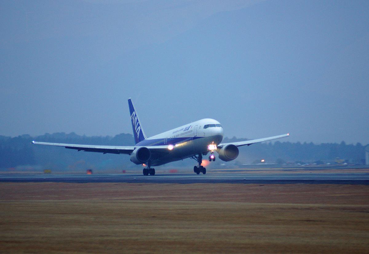 Aso kumamoto AIRPORT IN BLUE。 _b0044115_895164.jpg