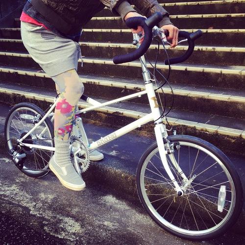 BRUNO 2016『Ventura』ベンチュラ ミキスト ミニベロ 700c ブルーノ おしゃれ 女子 自転車 ドロップ_b0212032_17382960.jpg