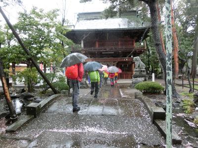 雨のスタート!煮貝の道 第1回_f0019247_23215178.jpg