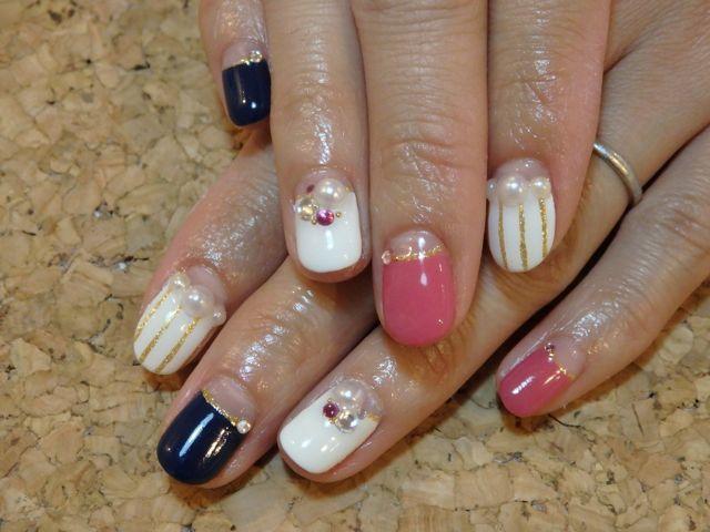 Stripe Nail_a0239065_17262833.jpg