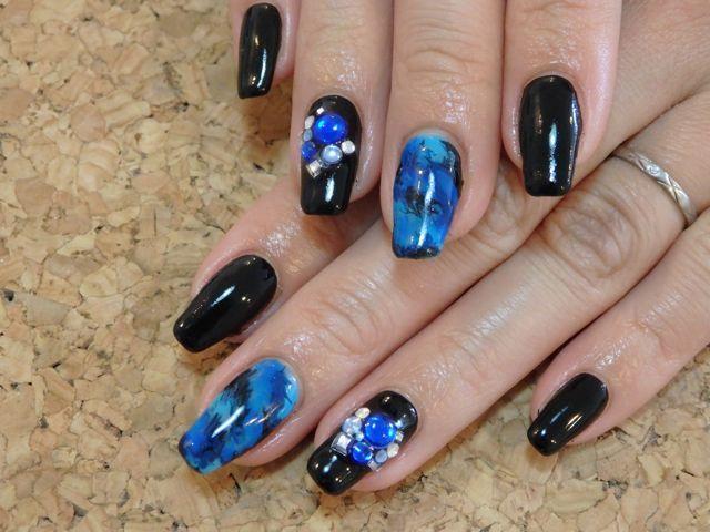 Marble Nail_a0239065_17321702.jpg
