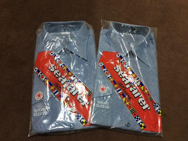 アメリカ仕入れ情報#12  デッドストック  半袖ミリタリーシャンブレーシャツ!_c0144020_10592835.jpg