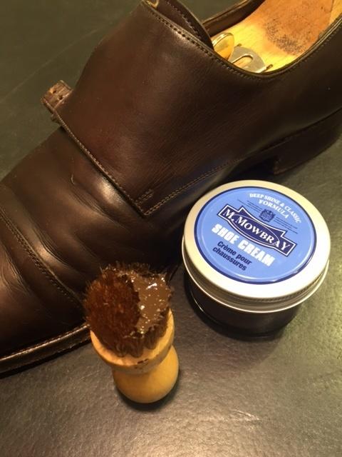 革靴のお手入れの説明書。_b0226322_21260744.jpg