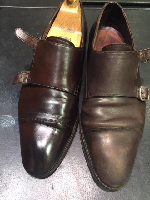 革靴のお手入れの説明書。_b0226322_21270998.jpg