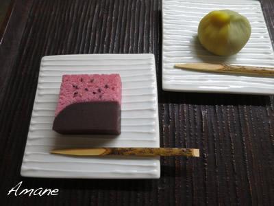 久し振りの生菓子_e0262651_12572778.jpg