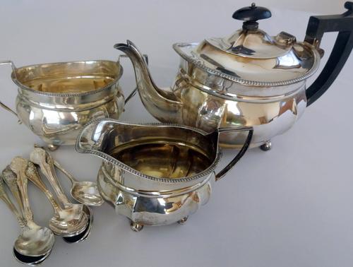 銀食器磨き・・・とホールマーク(刻印)_e0129400_2305671.jpg