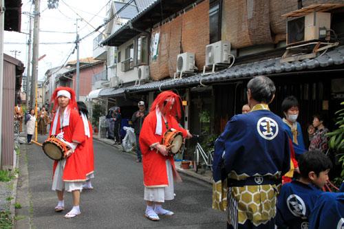 玄武神社 やすらい祭_e0048413_2154521.jpg
