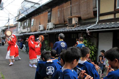 玄武神社 やすらい祭_e0048413_21551521.jpg