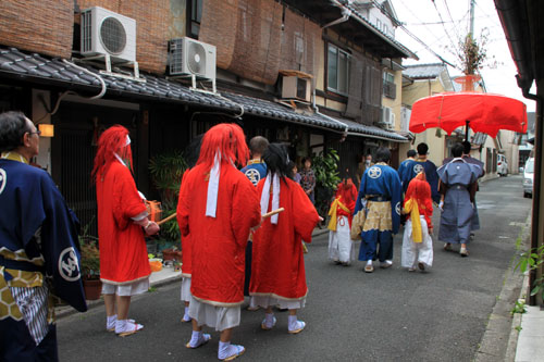 玄武神社 やすらい祭_e0048413_21552617.jpg
