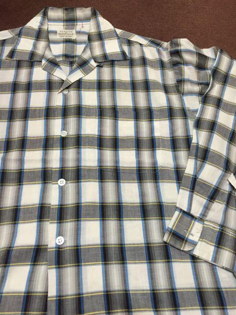 アメリカ仕入れ情報#18 50−60s オープンカラー ボックスシルエットシャツ 色々・・。_c0144020_9165038.jpg