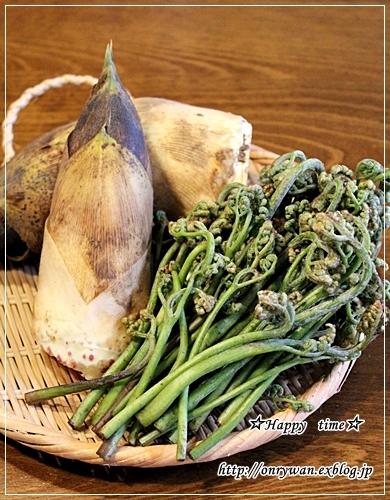 牛丼弁当と常備菜と今年初わらび♪_f0348032_17533074.jpg