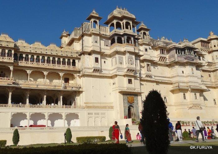 """インド・ラジャスタンの旅 13 ウダイプール """"シティパレス"""" その1_a0092659_17361332.jpg"""